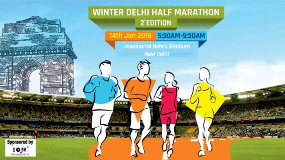 Winter Delhi Half Marathon 2018