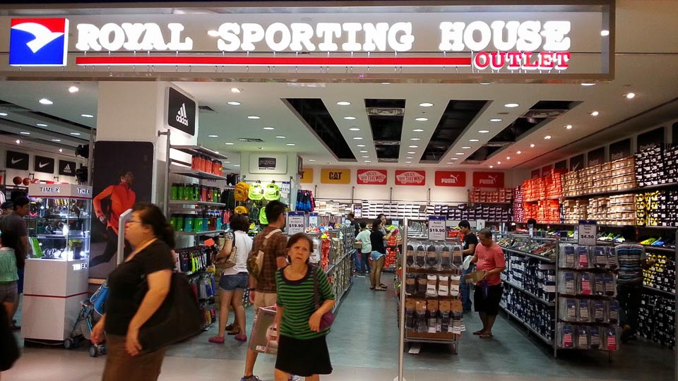 Where to Buy the Cheapest Running Shoes in Singapore - royal sporting house outlet