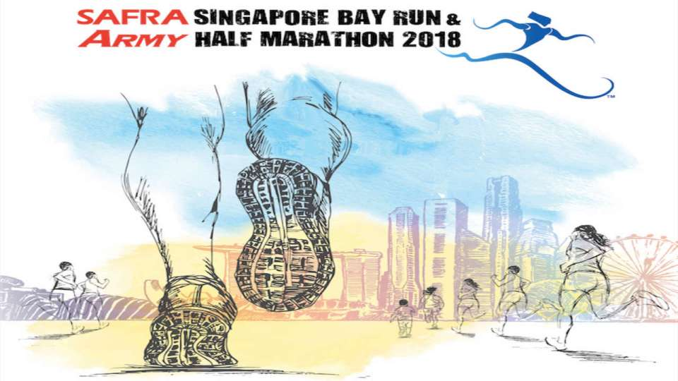 SAFRA Singapore Bay Run & Army Half Marathon 2018