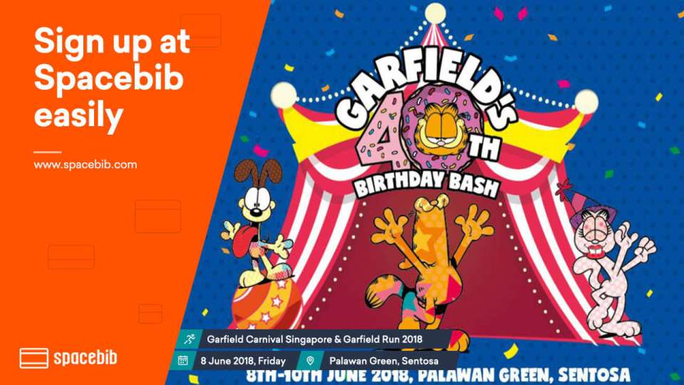 Garfields 40th Birthday Bash Run 2018