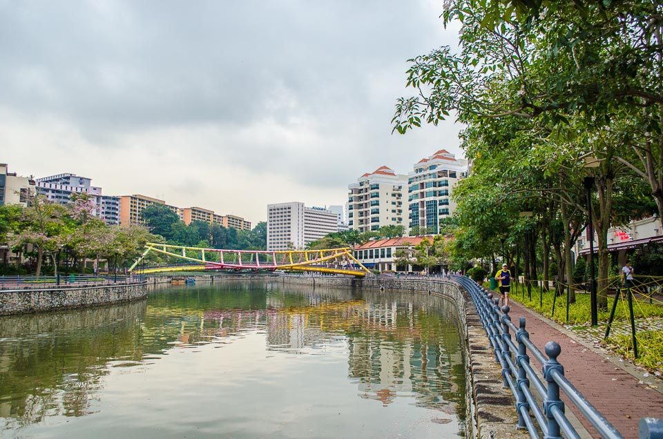 5 Best Singapore's Running Routes in the Central - Alexandra Canal, Singapore River, Robertson Quay
