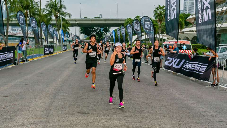 2XU Compression Run 2018 Singapore Race Results Are Out