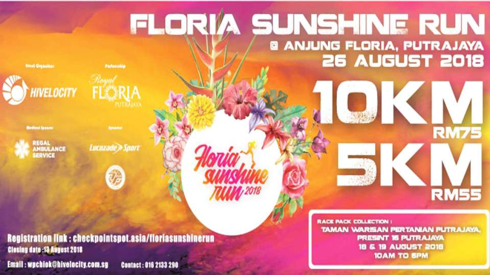 Floria Sunshine Run 2018