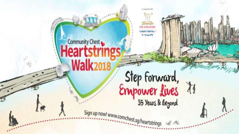 Community Chest Heartstrings Walk 2018