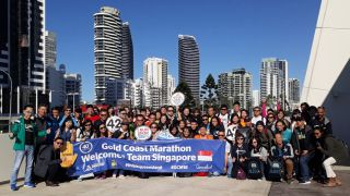 Rolling Good Times at Gold Coast Marathon 2018