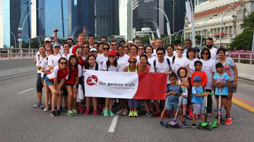 The Power Walk for Dress for Success Singapore 2018