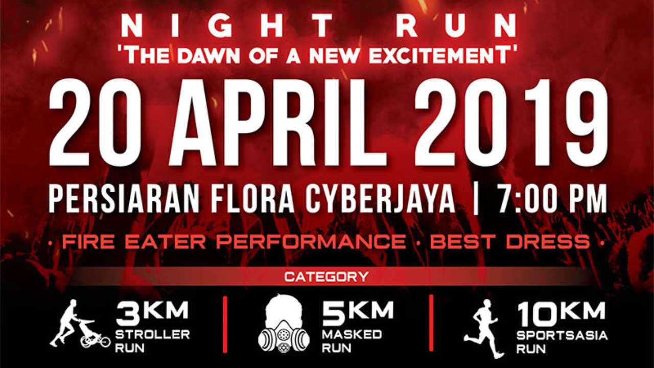 'LIGHT 'EM UP' NIGHT RUN 2019