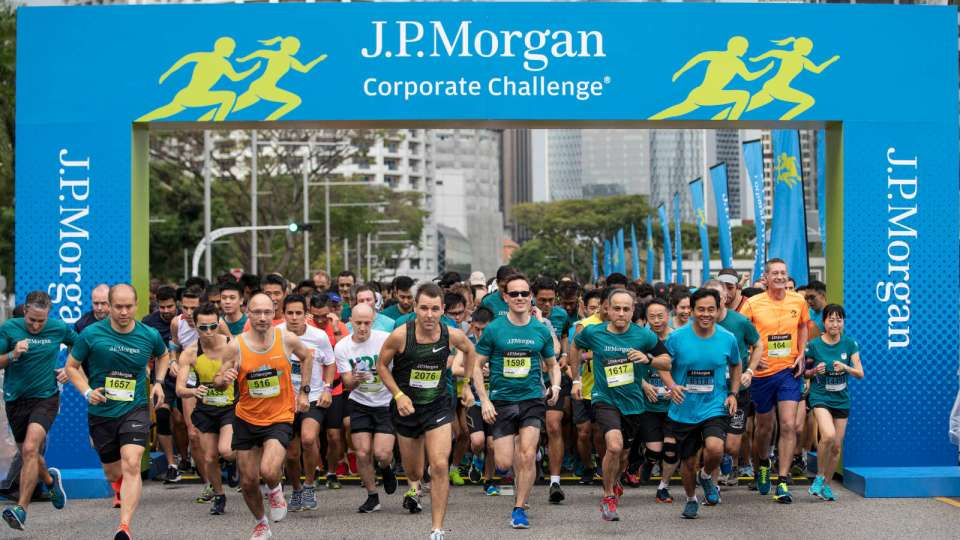J.P. Morgan Corporate Challenge Singapore 2019: Record Number of Participating Companies