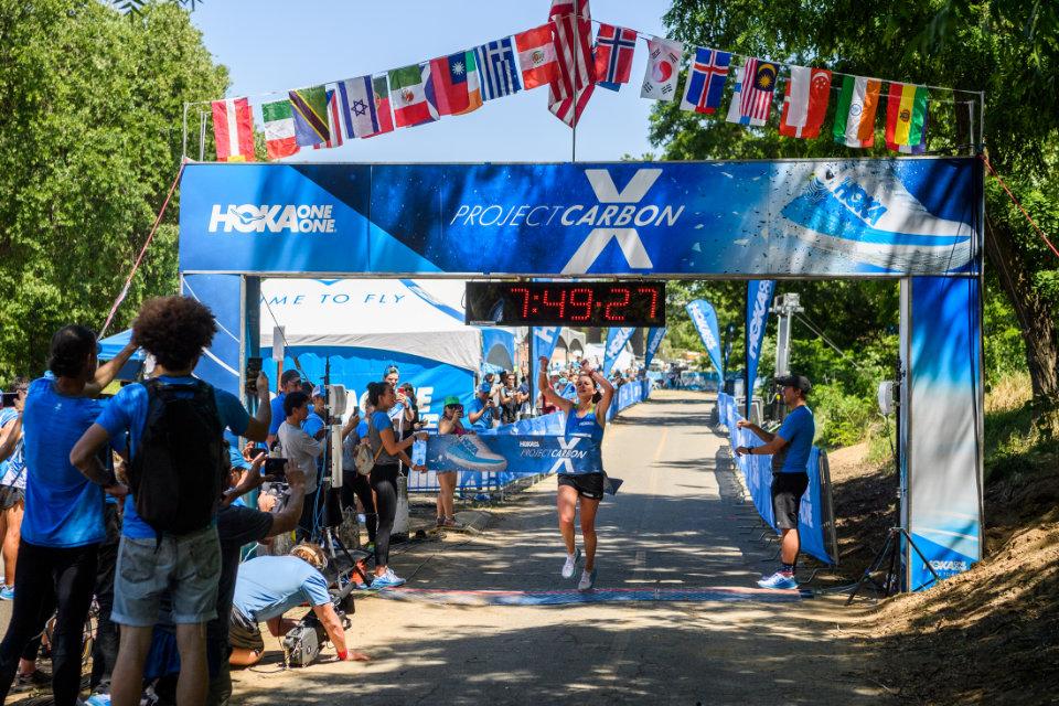 World Class Athletes Launch HOKA ONE ONE Carbon X Shoe