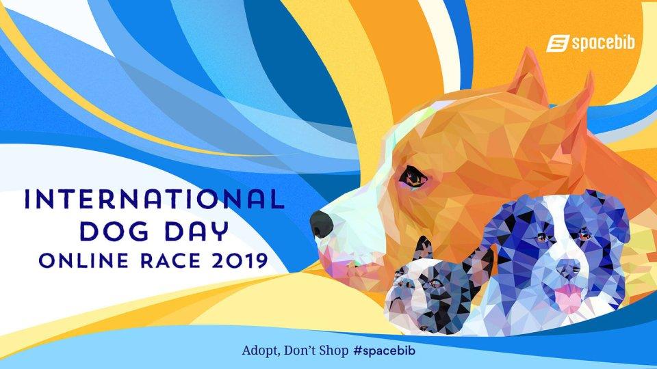 International Dog Day Online Race 2019