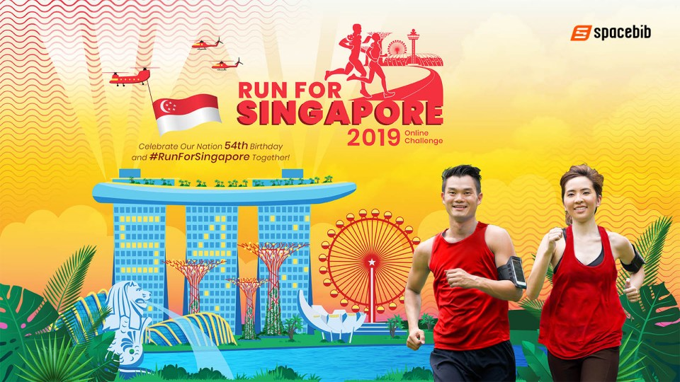 "Here's Your Only Chance to ""Run Toward"" Your Love of Singapore This Year"