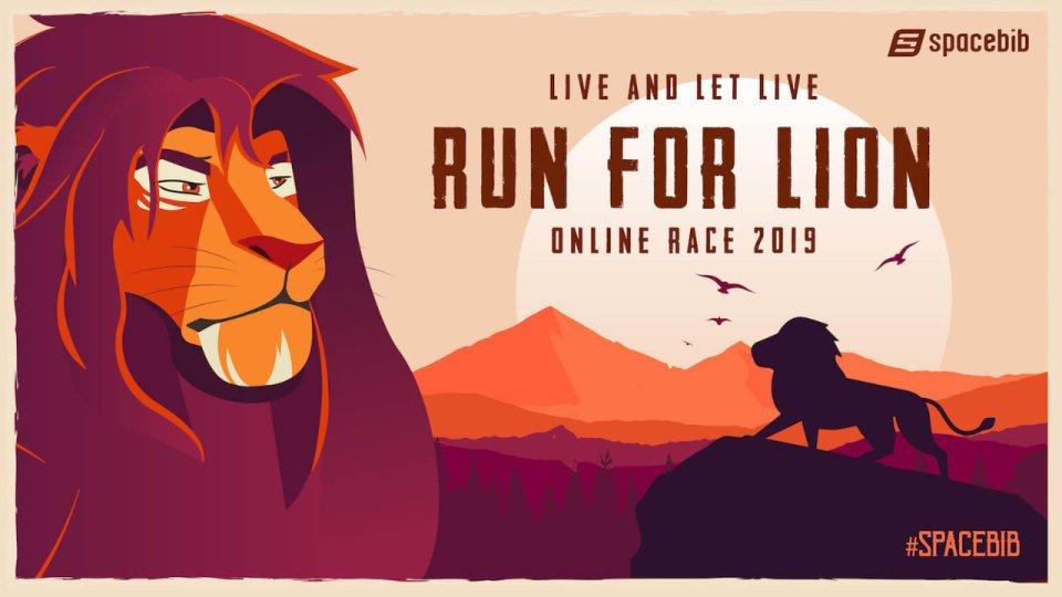Run For Lion Online Race 2019
