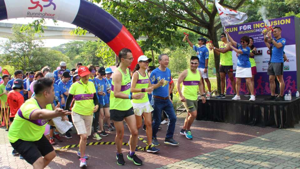 Run For Inclusion 2019 Welcomes Record Number of Persons with Special Needs and Caregivers