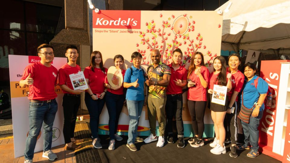 Kordel's Partners with Arthritis Foundation Malaysia to Raise Awareness on Joint Injuries