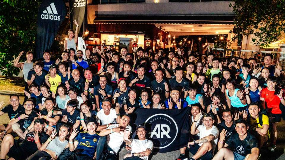 Close to 180 Runners Participated in adidas Singapore's First-Ever Night Run