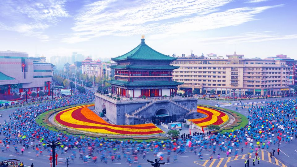 The Popular International Marathon Is Coming Back in Xi'an China