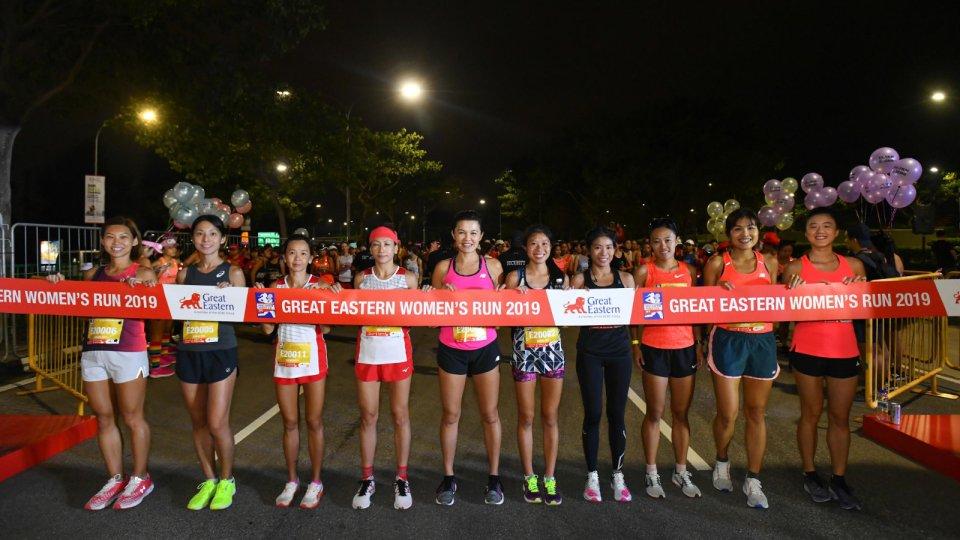 Great Eastern Women's Run 2019 Race Results