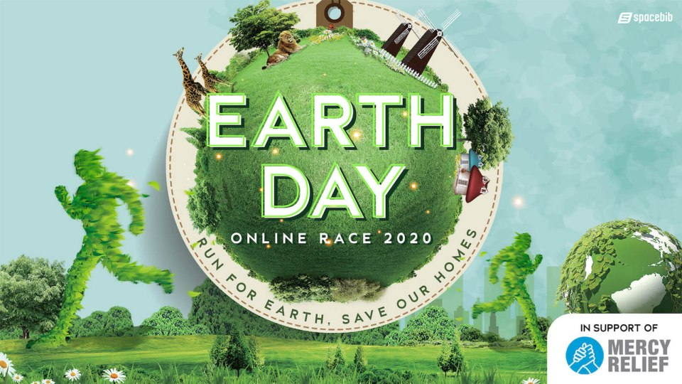Earth Day Online Race 2020: Save the Planet, One Footfall at a Time!