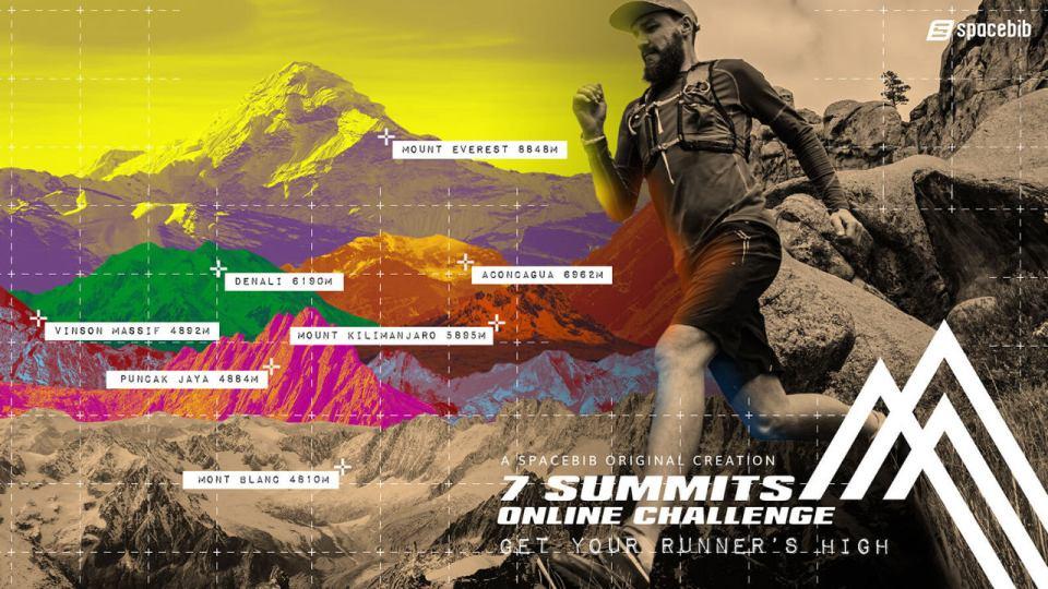 7 Summits Online Challenge 2020