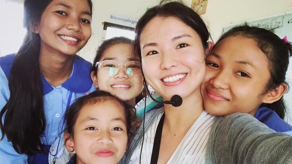 Meet Elaine On Why She Is Motivated To Run For Cambodia This Year