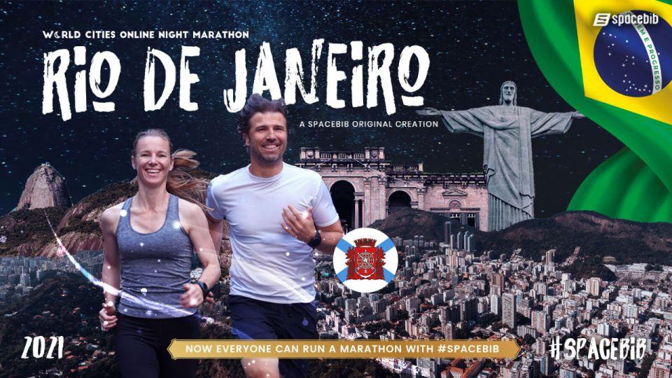 Rio de Janeiro Online Night Marathon 2021: World Cities Series