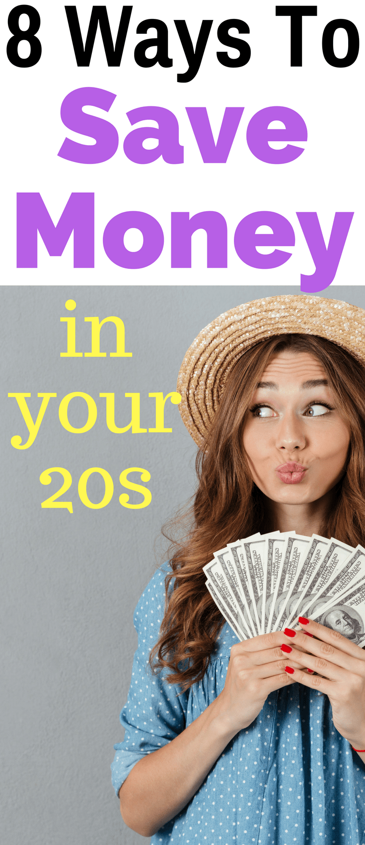 8 Ways To Save Money In Your 20s