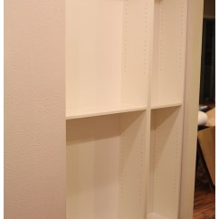 Kitchen Bookshelf Cart On Sale Easy Diy Freestanding Pantry With Doors From A Billy Bookcase Ikea Hack Using Believe It Or Not This