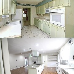 Kitchen Cabinet Updates Corner Cabinets Before And After Pictures- Insane Final Pictures Of A Flip ...