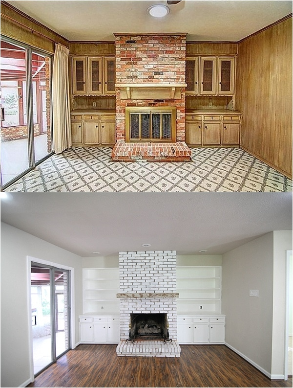 kitchen cabinet updates bar stools before and after pictures- insane final pictures of a flip ...