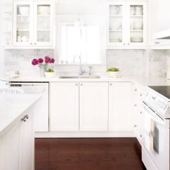 White Appliances Kitchen Breakfast Table Trendspotting Run To Radiance Loving The Look Of In So Glad They Are Back