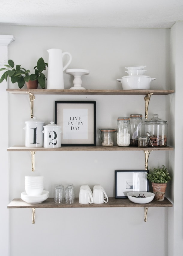 8 Ways Kitchen Shelves Will Rock Your World  You Need