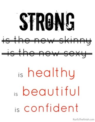 Being A Healthier Caregiver did you know strong is the new healthy.