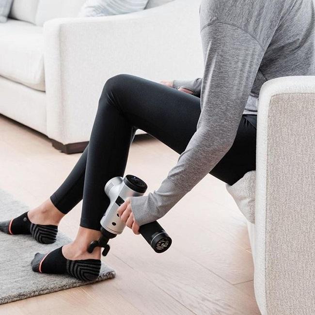jambes de pistolet de massage