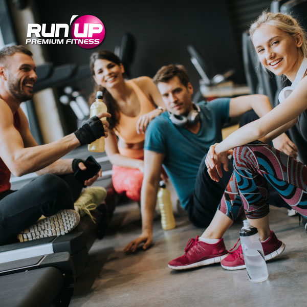 groupe run up salle de sport club