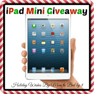 Holiday Wishes: iPad Mini GIVEAWAY!