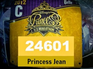 Princess Half Marathon: Starting Corrals and Race Bib- What's In a Number Anyway?