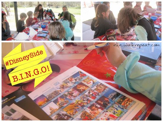 #disneyside bingo