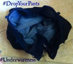 Drop Your Pants For Underwareness Movement