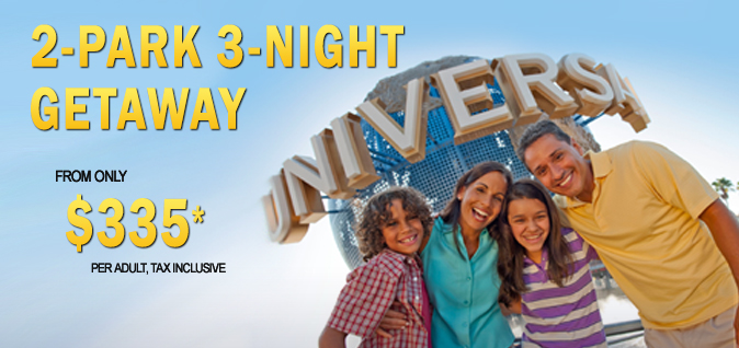 Universal Two Park Getaway