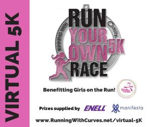 Virtual Run Your Own Race 5k For Girls On The Run