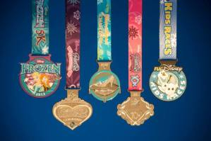runDisney Princess Half Weekend Medals Revealed, Its FROZEN!