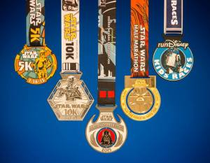 runDisney Star Wars Race Medals Revealed