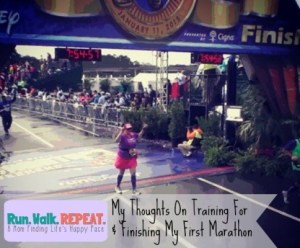 I Went Mental Preparing For and Completing My First Marathon – Looking Back