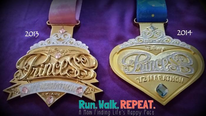 Princess Half Medals 2013 2014(2)