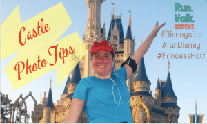 Get Your Best runDisney Race Castle Photo at Walt Disney World's Magic Kingdom