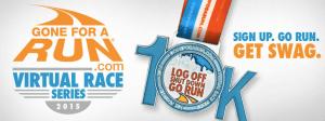 Log Off Shut Down Go Run 10K Virtual Race