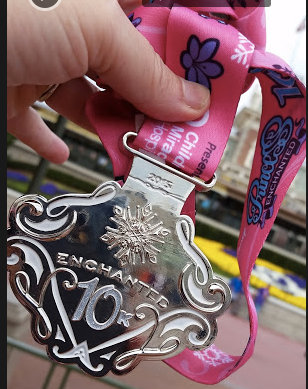 2015 Enchanted 10k Medal