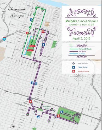 sAV course map