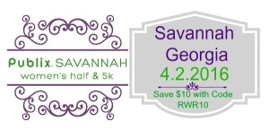 Publix Savannah Women's Half Race 2016 – Five Reasons to Run It Including a Discount