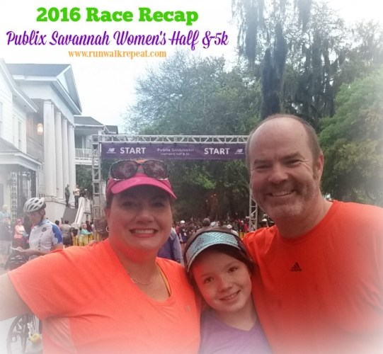 Recap Savannah Womens Half and 5k